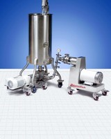 Wet-Mix Process Systems Feature Colloid Mill And Feed Pump