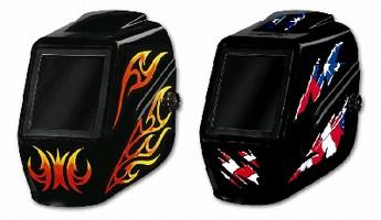 Welding Helmets have fixed-shade design.
