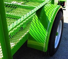 Acrylic Polyurethane protects pretreated surfaces.