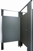 Restroom Partitions protect toilet stall users' privacy.