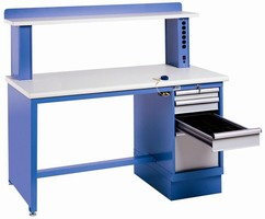 Custom ESD Workstations have flexible components.