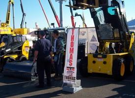 Thomas Skid Steer Dealer, Hewlett Equipment, Showcases Thomas at CivEnEx Show, Australia's #1 Construction Industry Show