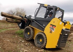 Thomas Equipment's Model 85 Skid Steer Loader Offers Strength & Endurance with Mighty Muscle Power for Big Jobs in Tight Places