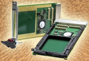 PMC Carrier Cards expand I/O options for 3U cPCI systems.
