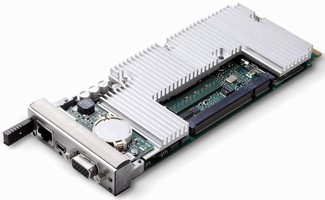 AdvancedMC Processor Module balances power, performance.