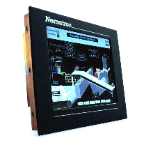 Industrial Monitors have bright flat panel.