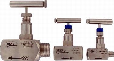 Needle Valves control flow of liquids or gases.