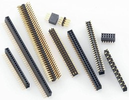 Board-to-Board Connectors suit limited space applications.