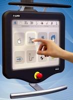 Press Brake Control System facilitates input and operation.