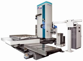 Horizontal Boring/Milling Machine combines speed, accuracy.