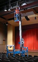 Attachment allows operators to mount lift above obstacles.