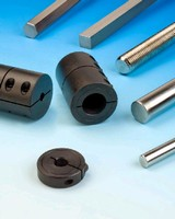 Shaft Collars and Couplings can be remachined.