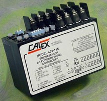 Encapsulated Signal Conditioner suits rugged environments.