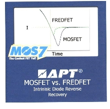 MOSFETs operate fast, run cool.