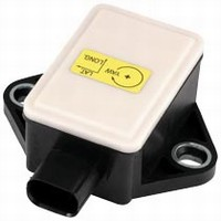 Angular Rate, Acceleration Sensor suits automotive systems.