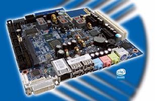 Mini-ITX Motherboard uses Intel® Atom(TM) processor.