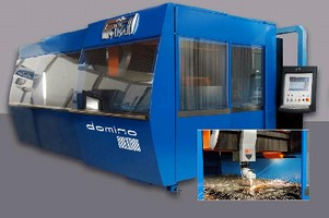 Laser Cutting System provides high-speed 2D/3D cutting.