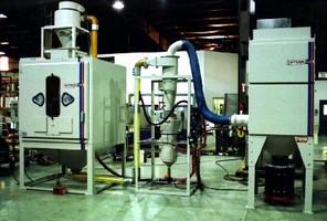 Pressure-Blast Cabinet offers direct pressure media delivery.