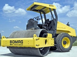BOMAG Introduces Redesigned 66-Inch Single-Drum Rollers
