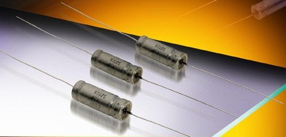 Wet Electrolytic Tantalum Capacitor enables high CV designs.
