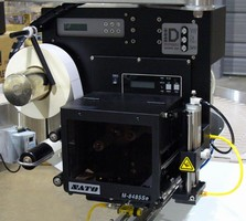 Label Printer Applicator is built to meet space demands.