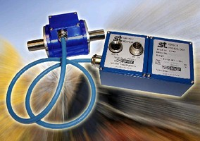 Torque Transducers offer measurement range to 10,000 Nm.