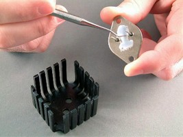 Epoxy Adhesive Paste resists high temperatures.