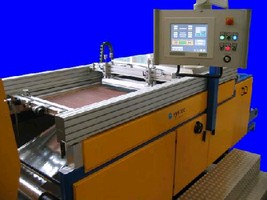 Screen Printing Systems feature electronic controls.