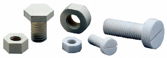 Ceramic Fasteners offer continuous use at 1,500°C.