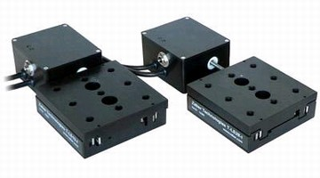 Motorized Linear Stages provide 0.1 µm resolution.