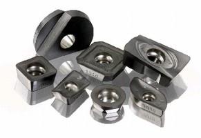 Insert Grade mills hardened steels.