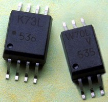 Digital Optocouplers have high-speed, dual-voltage design.