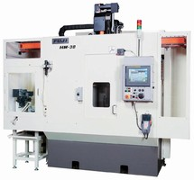 Milling Cell achieves 5-face machining in one chucking.