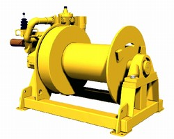Air Winches target offshore applications.