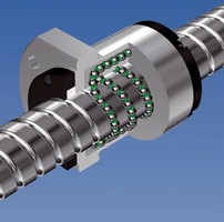 Compact Ball Screw is optimized for high speeds.