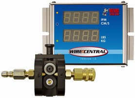 Weld Wire Monitor features automated operation.