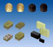 Components provide sound damping and vibration resistance.