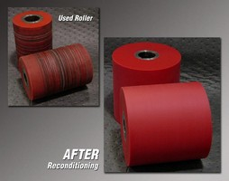 Reconditioning Service Extends Life of Polyurethane Rollers