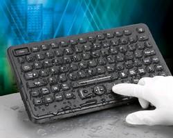 Washable Keyboards feature NEMA 4 rating.
