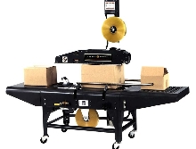 Case Sealer can convert to 2 in. or 3 in. tape requirements.