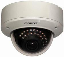 Color Dome Cameras feature vandal-resistant design.