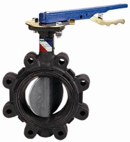 Ductile Iron Butterfly Valve suits non-steam applications.