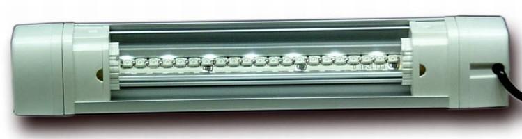 Modular LED Lighting enhances existing lighting effects.