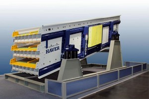 Vibrating Screen can be modified for various products.
