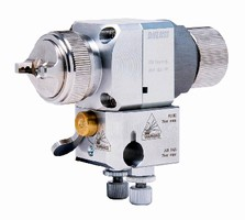 Spray Guns suit automatic and semi-automatic machines.