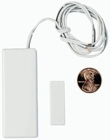 Wireless Transmitter cleanly integrates into windows/doors.