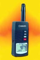 Hygrometer/Thermometer facilitates quality control.