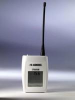 Radiologger transmits temperature and humidity readings.