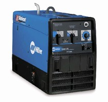 Welder Generator is fully enclosed for quiet, cool operation.