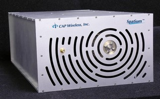 Power Amplifier features 6-18 GHz frequency range.